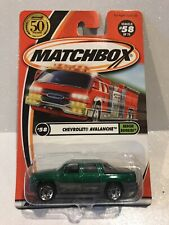 Matchbox~2001~Chevrolet Avalanche~Rescue Rookies~Clean