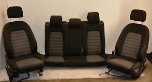 VW PASSAT 10-15 B7 1.6 TDI COMPLETE BLACK AND GREAT FRONT AND REAR SEATS