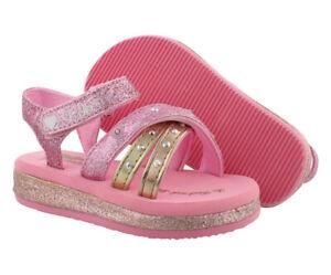 Skechers S Lights Sunshines Heart Splash Baby Girls Shoes
