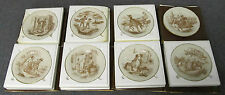 Lot Of 8 Franklin Porcelain 1977 The Official Mark Twain Plate Collection Plates