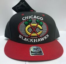 e874ca1fec58f Chicago Blackhawks Snapback Hat -  47 Brand - New