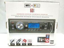RARE NEW - DUAL ELECTRONICS CAR BOAT STEREO XR4110 MP3 WMA SD CARD USB IN DASH