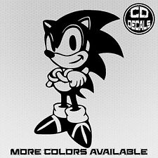 Sonic the Hedgehog Vinyl Decal Car Laptop Sticker - Sega Video Game Dreamcast