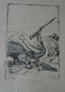 RUDOLF PLACEK ILLUSTRATEUR TCHEQUE Assiette au Beurre-Vive la Serbie-dessin 1915