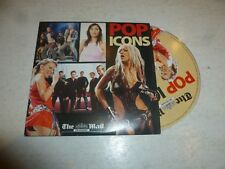 POP ICONS - 10-track CD - Daily Mail Promo