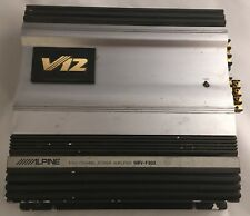 """Alpine V12 MRV-F303 OLD SCHOOL Power Amp """"As Is"""" Condition"""