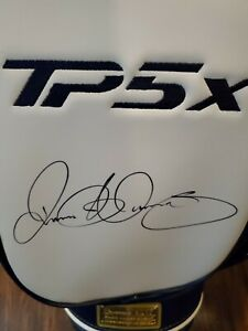 TP5X Rory McIlroy autographed TaylorMade TP5x golf bag