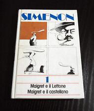 Maigret e il Lettone - Maigret e il castellano - Georges Simenon - Ed. Rilegata