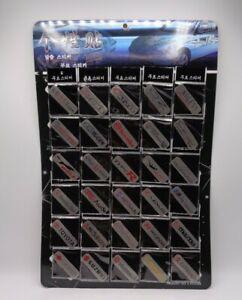 60 Aluminum Emblems Assortment For Diecast Displays