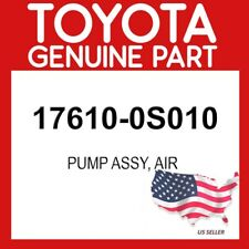 TOYOTA GENUINE 17610-0S010 PUMP ASSY, AIR OEM