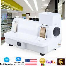 Optical Hand Edge Grinder Eyeglasses Lens Hand Edger Polisher 110v 120w Us Stock