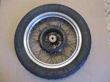 Roue arrière à tambour pneu très bon état Suzuki 750 DR - 800 DR - SR41 - SR42A