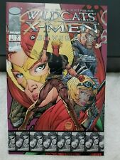 Image/Marvel DF Wildcats X-Men The Silverage #1 Signed by Jim Lee w/COA