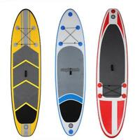 10ft Inflatable Stand Up Paddle Board SUP w/ Adjustable Paddle Travel Backpack