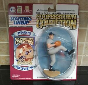 Whitey Ford-autographed 1995 Cooperstown Kenner Starting Lineup-New York Yankees