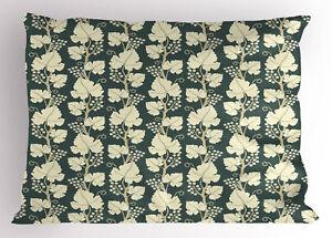 Vineyard Pillow Sham Decorative Pillowcase 3 Sizes for Bedroom Decor