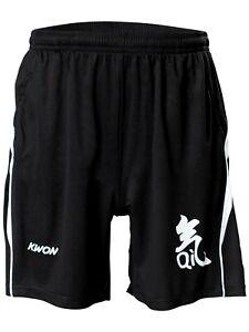 Short mit Qi Bedruckung. KWON. Sporthose. Boxen. Fitness. Kung Fu. Wushu.Tai Chi