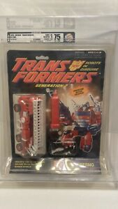 1993 Vintage G2 NEW Hasbro Transformers Generation 2 Inferno AFA 75Y MOC