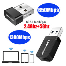 USB3.0 /2.0 1300Mbps / 650Mbps Long Range Dual Band 5GHz Wireless WiFi Adapter
