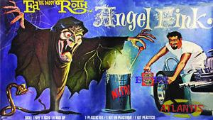 Ed Big Daddy Roth Angel Fink Witch Plastic Model Kit Atlantis Models