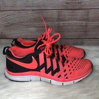 Nike Free Trainer 5.0 Black/Atomic Red Running Shoes 579809 006 Men's Size 12