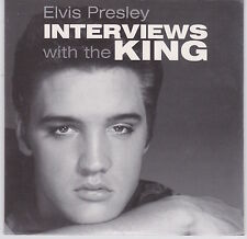 Elvis Presley - Interviews With The King - Scarce 2001 Fan Club issue promo CD