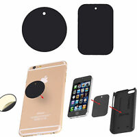 Spare Replacement Adhesive Magnetic Plates for Mobile Phone Sat Nav GPS holders