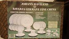 """JOHANN HAVILAND BAVARIA GERMANY """"FOREVER SPRING"""" 20 PC DINNER SET"""