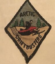 Vintage Snowmobile Patch Arctic Drift Busters - RARE