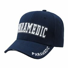 NAVY BLUE PARAMEDIC EMT BASEBALL CAP CAPS HAT HATS