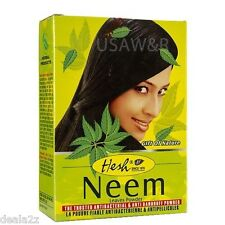 6 x100g HESH NEEM POWDER DANDRUFF ITCHY SCALP HAIR LOSS SKINCARE