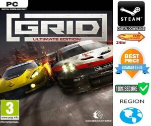 GRID Ultimate Edition PC Steam GLOBAL 100% SECURE**FAST DELIVERY**