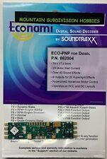 Soundtraxx 882004 ECONAMI ECO-PNP DCC DIESEL Sound Decoder MODELRRSUPPLY$5 offer