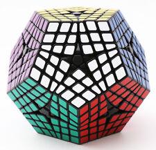 SS 6x6x6 Megaminx Gigaminx Twisty Puzzle Magic Cube Intelligence Toys Gift Black