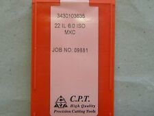 Gewindeplatten von CPT, 22IL 6,0 ISO MXC