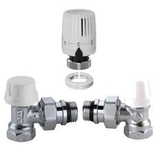 IC Kit valvola detentore testina termostatica Ferro Rame Multistrato Caleffi