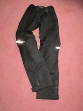 Mens waterproof motorbike trousers. BMW Motorrad. Urban Black.