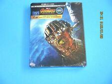 Steelbook Avengers Infinity War 4k Ultra HD Blu Ray 2018 Boxed