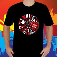 THE WHITE STRIPES Rock Alternative Rock Band Men/'s Black T-Shirt Size S to 3XL