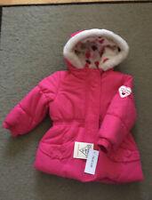 Osh Kosh B'Gosh Baby Girls Winter Puffer Jacket 12M Vibrant Pink