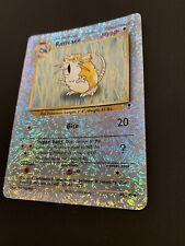 Reverse Holo Raticate 61/110 Legendary Collection Pokémon Card, Nm, Near Mint