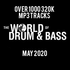 Drum & Bass May 2020 Collection: Over 1000 320K MP3 Tracks
