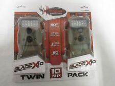 2 pack Wildgame Innovations Blade X10 Trail Camera t10i35t4 IR 10MP