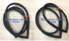 Front & Rear Windshield Rubber Seal For Toyota Corolla KE35 KE55 TE37 2D Coupe