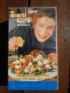 CLEARANCE!! BBC Jamie Oliver (Complete Series 2) The Naked Chef (2 VHS Set) AUST