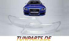 Scheinwerfer Glas für Audi A6 C6 4F Streuscheiben Linsen Abdeckung NEU