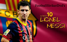 Lionel Messi's 252 Goal Documentary Dvd