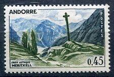 TIMBRE ANDORRE FRANCE NEUF  N° 160  *  CROIX GOTHIQUE DE MERTXELL