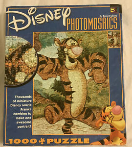 Disney Photomosaics 1000 Piece Jigsaw Puzzle ~ Tigger Bouncing ~ Winnie The Pooh