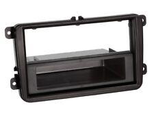 1-din Marco de radio con Compartimento Almacenamiento SEAT , Skoda, VW, negro